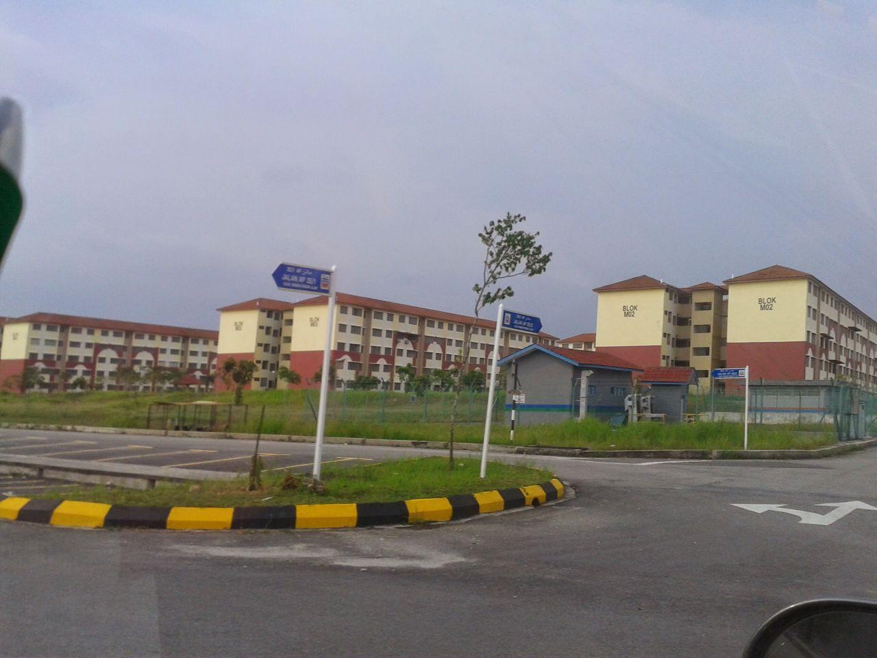 Flat Alam Perdana Puncak Alam Selangor